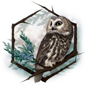 Owltober Art Challenge @ Instagram